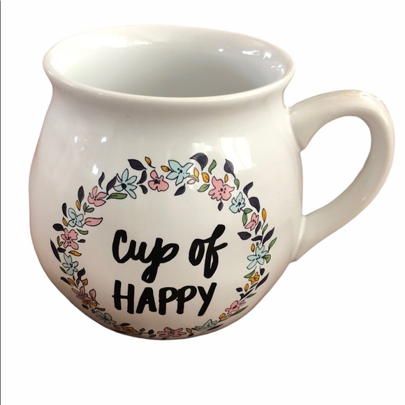 """Cup of Happy"" Mug 🍵"